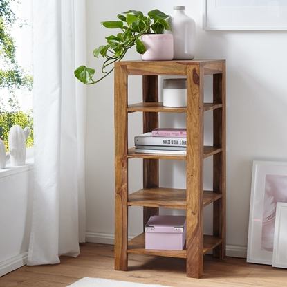 Picture of Solid Wood Sheesham Book Shelf