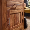 Picture of Solid Wood Sheesham Bedside With 1 Door And 1 Drawer