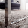 Picture of Solid Wood Coffee Table With Steel Legs