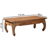 Picture of Solid Wood Sheesham Opium Coffee Table