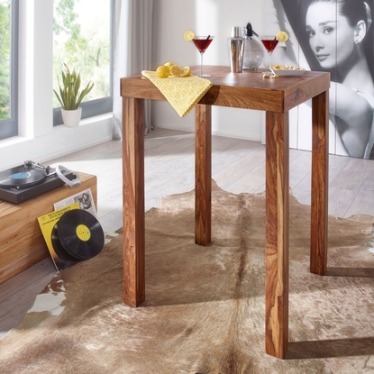 Picture of Solid Wood Sheesham Bar Table