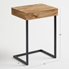 Picture of Solid Wood Side Table cum Laptop Table