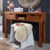 Picture of Solid Wood Sheesham Console Table With 2 Drawer And 1 Compartment