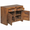 Picture of Solid Wood Sheesham Sideboard With 2 Door And 2 Drawer
