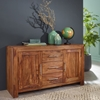 Picture of Solid Wood Sheesham Sideboard With 2 Door And 3 Drawer