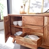 Picture of Solid Wood Almeria Sideboard With 3 Drawer And 2 Door