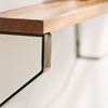 Picture of Floating Wooden And Iron Shelf