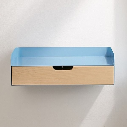 Picture of Floating Wall Shelf With Drawer