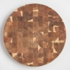 Picture of Round Sheesham Wood End Grain Butcher Block