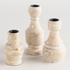 Picture of Wooden Candle Holders Set Of 3