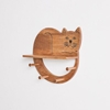 Picture of Cat Shaped Wall Shelf With Multi Hooks