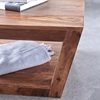 Picture of Solid Wood Sheesham Prism Coffee Table