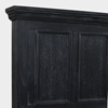 Picture of Solid Wood Queen Bed In Black Finish