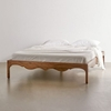 Picture of Solid Wood Sheesham Bed Carved With Three Sides