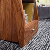 Picture of Solid Wood Sheesham Nightstand Wit 1 Drawer