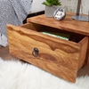 Picture of Solid Wood Sheesham Bedside Table