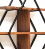 Picture of Burf Sheesham Wood Floating Wall Shelves