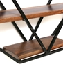 Picture of Solid Wood And Iron Wall Shelf