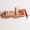 Picture of wooden Wave Wall Shelf