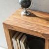 Picture of Solid Wood Sheesham Broad Edge Book Shelf