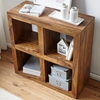 Picture of Solid Wood Sheesham RIka Book shelf Cum Side Table