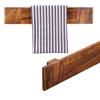 Picture of Wooden Towel Hanger In Honey Oak Finish