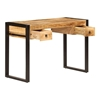 Picture of Solid Wood Rema Desk With Iron Stand