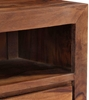 Picture of Solid Wood Sheesham Tv Unit With 3 Drawers And 1 Open Compartment