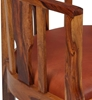 Picture of Solid Wood Sheesham Vintage Arm Chair