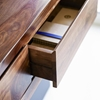 Picture of Solid Wood Sheesham Floating 2 Drawer