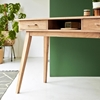 Picture of Solid Wood Ola Console Table With Two Drawer