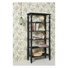 Picture of Solid Wood Sheesham Bookshelf With Handcarved Posters