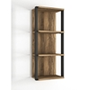 Picture of Solid Wood Sheesham Wall Shelf With 2 Iron Frame