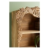 Picture of Wooden Wall Shelf Covered With Carving On The Border