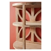 Picture of Antiago Two-Tier Solid Wood Wall Shelf