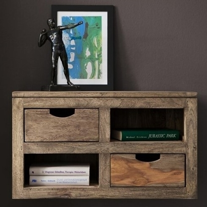 Picture of Solid Wood Floating Fub wall Shelf