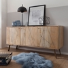 Picture of Solid wood Mango  country house dresser sideboard