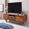Picture of Solid Wood Sheesham TV Cabinet Supported By Four Robust Legs