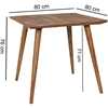 Picture of Solid Wood Sheesham Retro Design Table