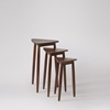 Picture of Solid Wood Sheesham Abek Set Of 3 Side Table