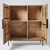 Picture of Solid Wood Cabinet In Natural Finish