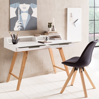 Picture of Solid Wood Desk With MDF Top