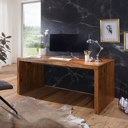 Picture of Solid Wood Sheesham RO Office Desk
