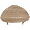Picture of Solid Wood Coffee Table With Unique Triangular Shape