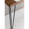 Picture of Solid Wood Sheesham Study Table/ Desk With Iron Legs
