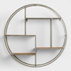 Picture of Metal Round Cira Wall Shelf