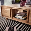 Picture of Solid Wood Coffee Table With Spacious Drawers