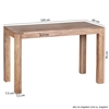 Picture of Solid Wood Dining Table