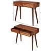 Picture of Solid Wood Sheesham Console With 2 Drawer