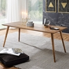 Picture of Solid Wood Sheesham Dining Table With Rounded Legs